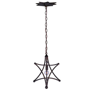 Crystorama Astro Collection 1 Light Chandelier