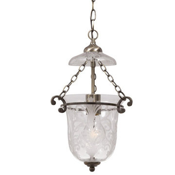 Crystorama Camden Collection 1 Light Pendant