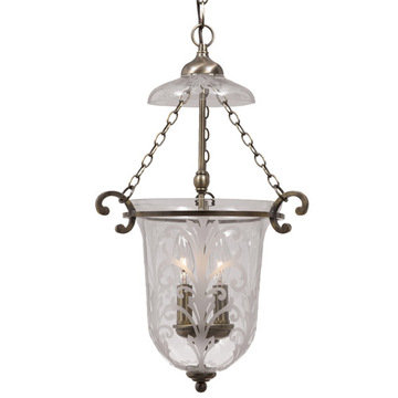 Crystorama Camden Collection 2 Light Pendant
