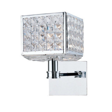 Crystorama Chelsea Collection 1 Light Square Wall Sconce