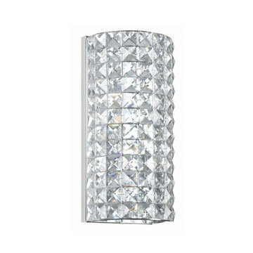 Crystorama Chelsea Collection 2 Light Wall Sconce