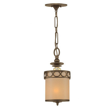 Crystorama Eclipse Collection 1 Light Pendant