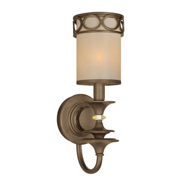 Crystorama Eclipse Collection 1 Light Wall Sconce