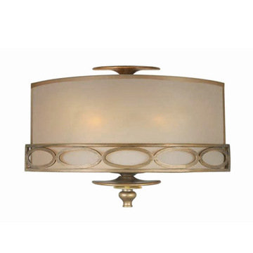 Crystorama Eclipse Collection 3 Light Wall Sconce