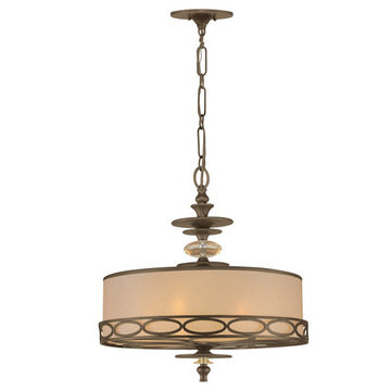 Crystorama Eclipse Collection 5 Light Chandelier