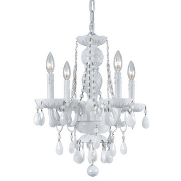 Crystorama Envogue Collection 4 Light Chandelier