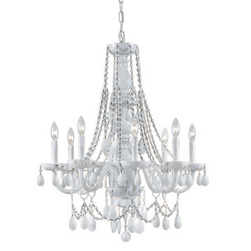 Crystorama Envogue Collection 8 Light Chandelier