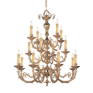 Crystorama Etta Collection 12 Light Chandelier