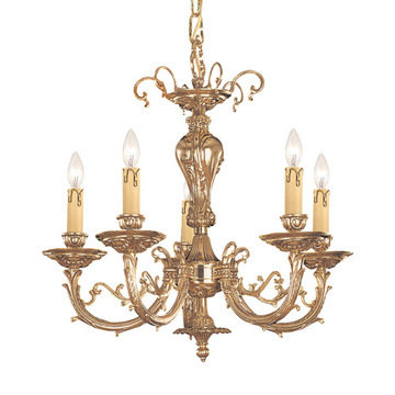 Crystorama Etta Collection 5 Light Chandelier