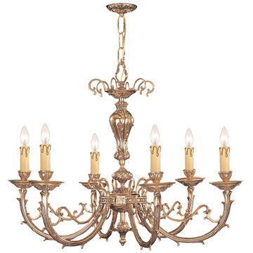 Crystorama Etta Collection 8 Light Chandelier
