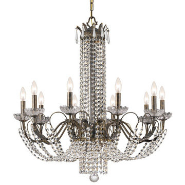 Crystorama Flatiron Collection 10 Light Chandelier