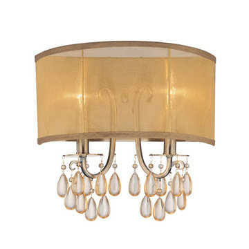 Crystorama Hampton Collection 2 Light Wall Sconce