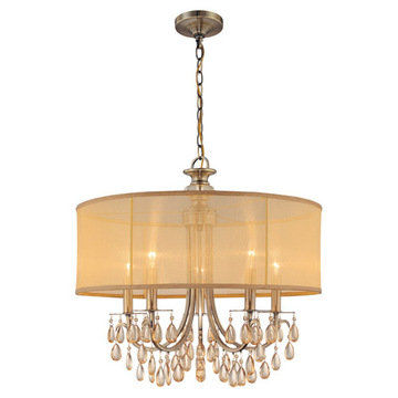 Crystorama Hampton Collection 5 Light Chandelier