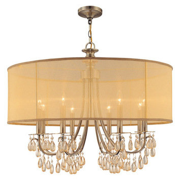 Crystorama Hampton Collection 8 Light Chandelier