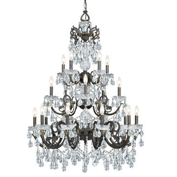 Crystorama Legacy Collection 10 Light Chandelier