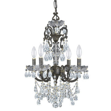 Crystorama Legacy Collection 4 Light Chandelier