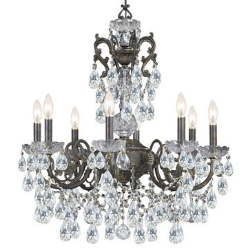 Crystorama Legacy Collection 8 Light Chandelier
