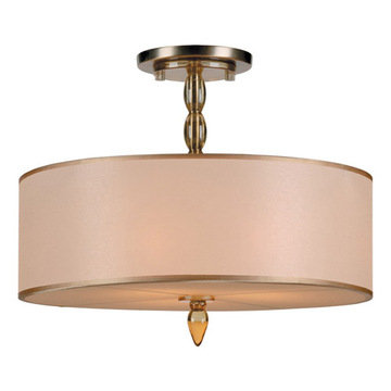 Crystorama Luxo Collection 3 Light Chandelier