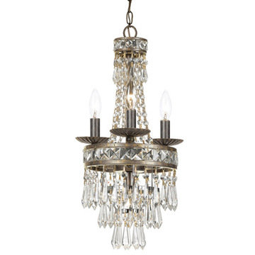 Crystorama Mercer Collection 4 Light Chandelier