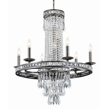 Crystorama Mercer Collection 6 Light Chandelier