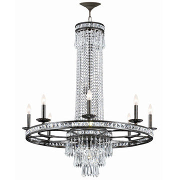Crystorama Mercer Collection 8 Light Chandelier