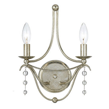 Crystorama Metro Collection 2 Light Sconce
