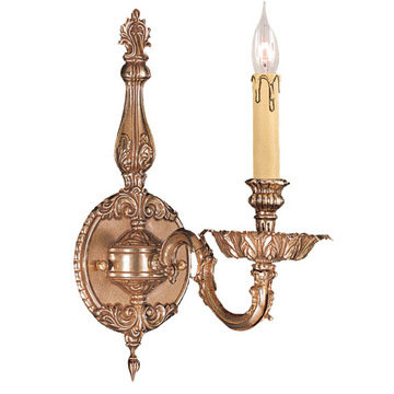 Crystorama Novella Collection 1 Light Wall Sconce