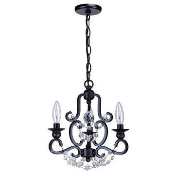 Crystorama Orleans Collection 3 Light Chandelier