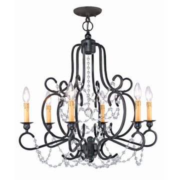 Crystorama Orleans Collection 6 Light Chandelier