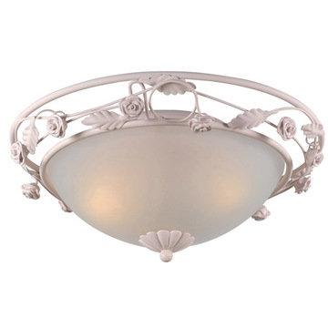 Crystorama Paris Flea Collection 3 Light Flush Mount