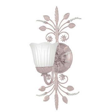 Crystorama Paris Flea Market Collection 1 Light Bath Sconce