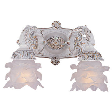 Crystorama Paris Flea Market Collection 2 Light Wall Sconce
