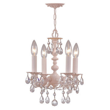 Crystorama Paris Flea Market Collection 4 Light Mini Chandelier
