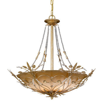 Crystorama Paris Flea Market Collection 6 Light Chandelier