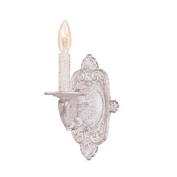Crystorama Paris Flea Market Collection Single Candelabra Sconce Wall Sconce