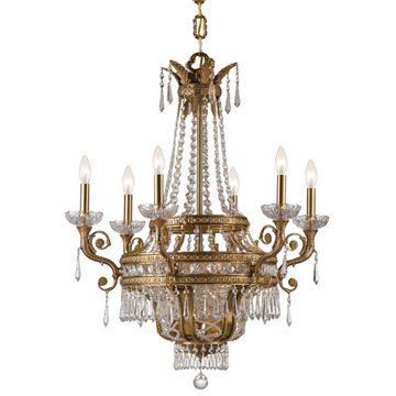 Crystorama Regal Collection 6 Light Chandelier