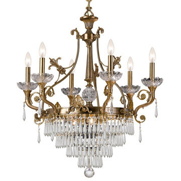 Crystorama Regal Collection 9 Light Chandelier