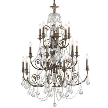 Crystorama Regis Collection 18 Light Chandelier