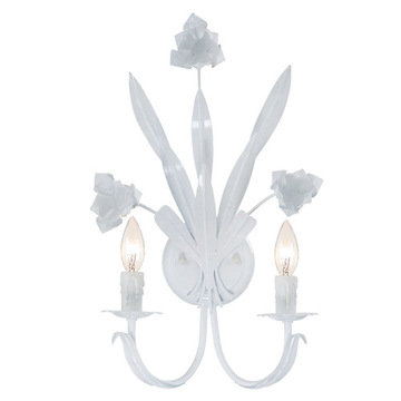 Crystorama Southport Collection 2 Light Wall Sconce