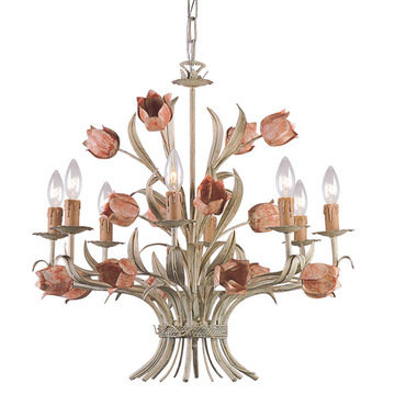 Crystorama Southport Collection 8 Light Chandelier