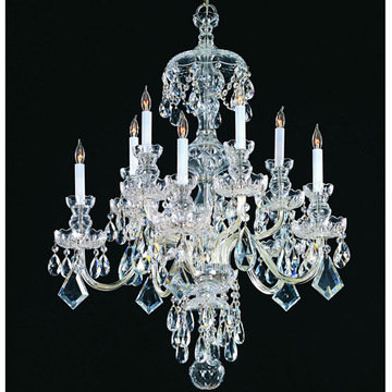 Crystorama Traditional Crystal Collection 5 Light Chandelier