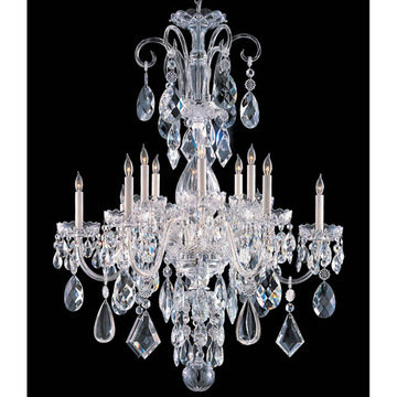Crystorama Traditional Crystal Collection 12 Light Chandelier