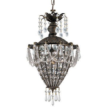 Crystorama Vanderbilt Collection 1 Light Pendant