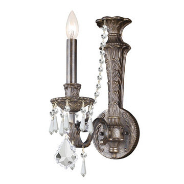 Crystorama Vanderbilt Collection 1 Light Wall Sconce