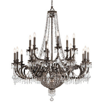 Crystorama Vanderbilt Collection 12 Light Chandelier
