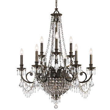 Crystorama Vanderbilt Collection 9 Light Chandelier