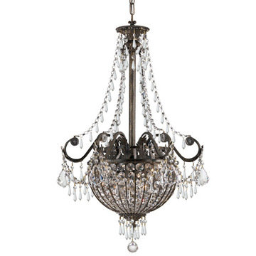 Crystorama Vanderbilt Collection 6 Light Pendant