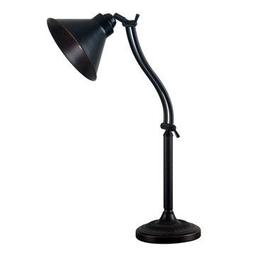 Kenroy Home Amherst Adjustable Desk Lamp