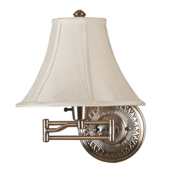 Kenroy Home Amherst Wall Swing Arm Lamp