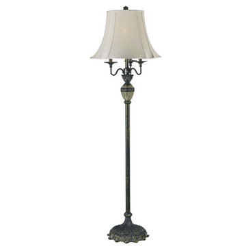 Kenroy Home Baroness Club Floor Lamp